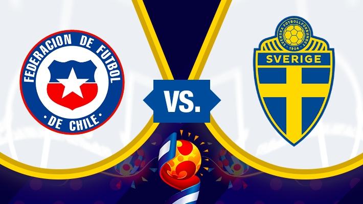 Sigue el minuto a minuto del debut de  Chile ante Suecia en el Mundial de Francia 2019