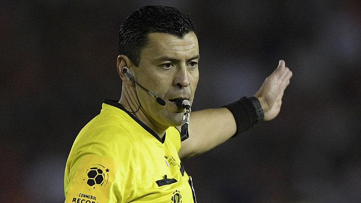 Roberto Tobar es designado para dirigir el Argentina-Colombia, uno de los duelos más destacados de la Copa América