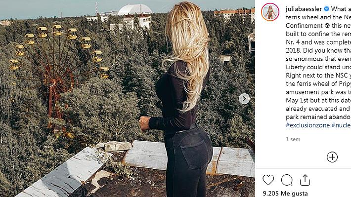 La nueva moda en redes sociales que muchos critican: posar en Chernobyl