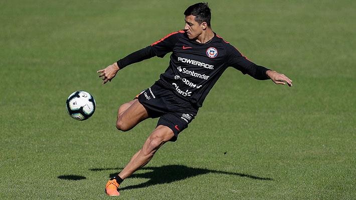 Rueda prueba a Alexis en cancha y el delantero vuelve a jugar a sólo seis días del debut en Copa América