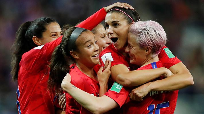 Estados Unidos consiguió la mayor goleada en un Mundial Femenino al derrotar a Tailandia por 13-0 y ahora va por Chile