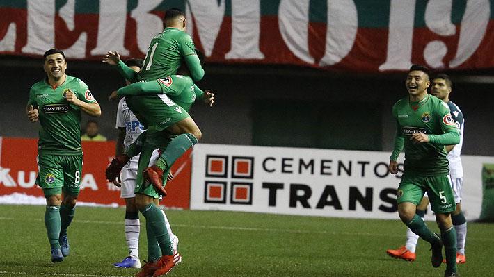 Video: El increíble golazo desde casi 70 metros con el que Audax cerró su victoria ante Wanderers en Copa Chile