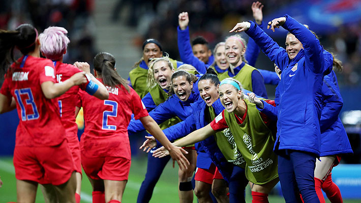 Las duras críticas que recibieron las jugadoras de Estados Unidos por celebrar los últimos tantos del 13-0 sobre Tailandia