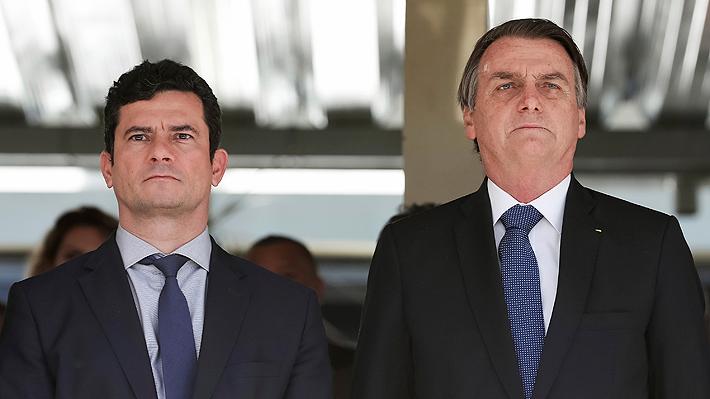 """Sérgio Moro afirma que los """"falsos escándalos"""" no detendrán su misión como ministro de Justicia"""