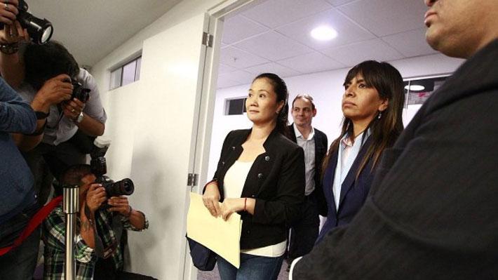 Tribunal peruano rechazó recurso de amparo para liberar a Keiko Fujimori en el marco de caso Odebrecht