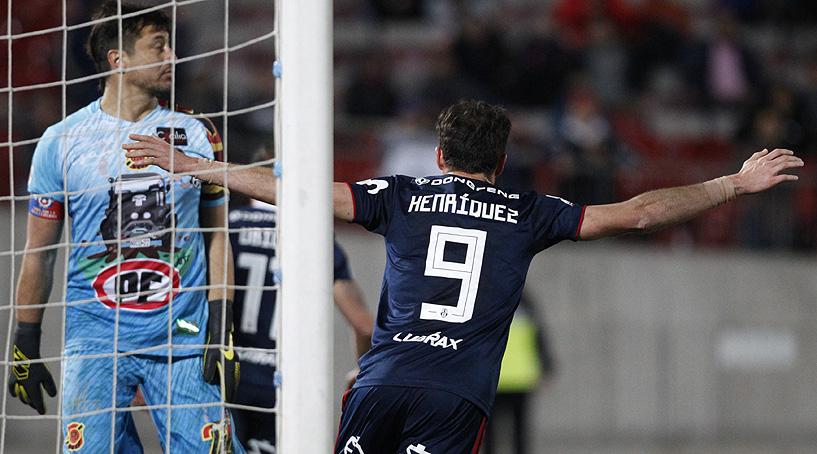 Con el arquero De Paul como figura, una pobre U rescató un empate ante Rangers y clasificó a octavos de Copa Chile