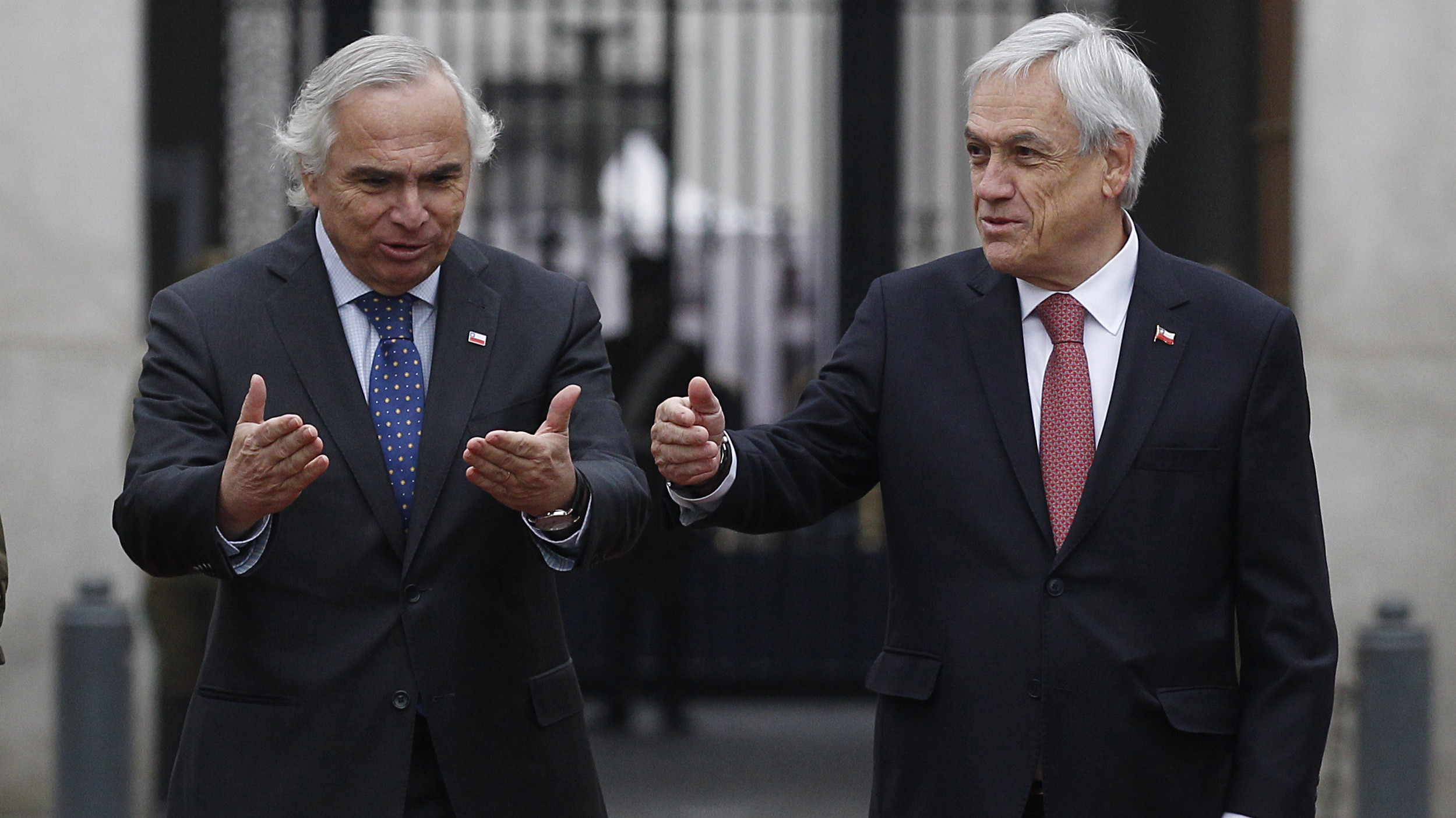 Piñera se reúne con comité político en medio de inminente cambio de gabinete