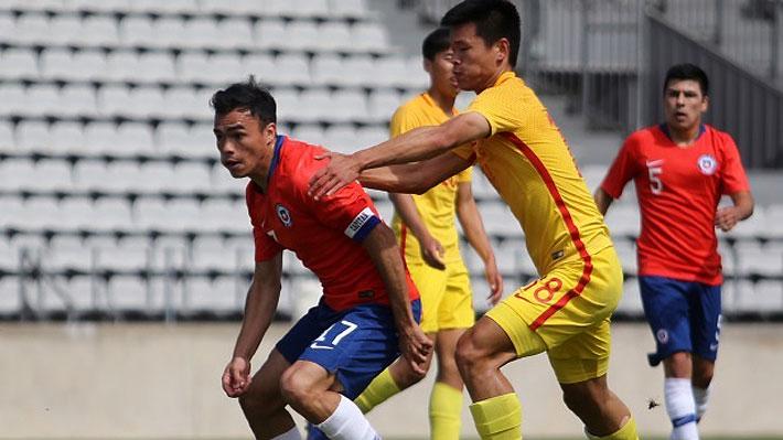 """La """"Roja"""" Sub 23 se despidió del ex esperanzas de Toulon con un ajustado triunfo ante China"""