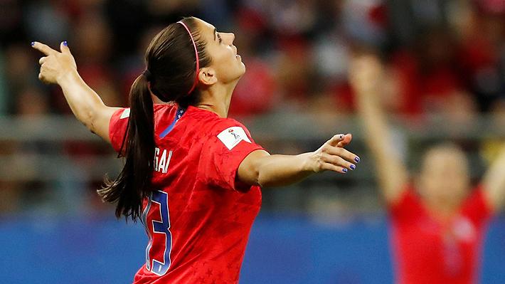 La delantera de la selección femenina de Estados Unidos que amenaza a Chile en el Mundial de Francia