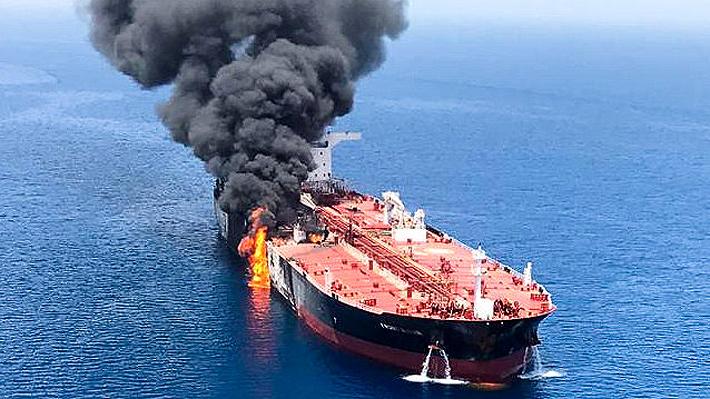 EE.UU. acusa a Irán de estar detrás de los presuntos ataques contra dos buques en el golfo de Omán
