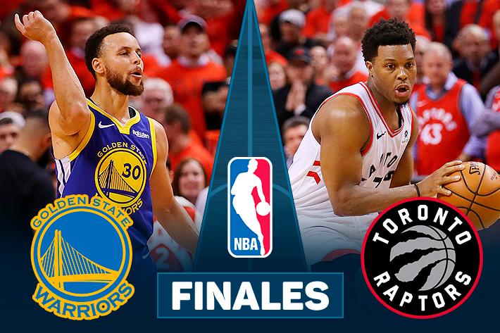 Repase la victoria con que Toronto Raptors se consagró campeón de la NBA