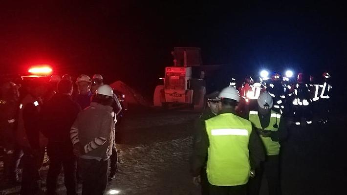 Alcalde de Tocopilla asegura que se logró establecer contacto con mineros atrapados: Rescate podría demorar varias horas