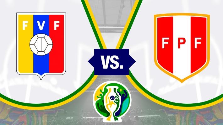 Así se forjó el empate sin goles entre Perú y Venezuela por la Copa América