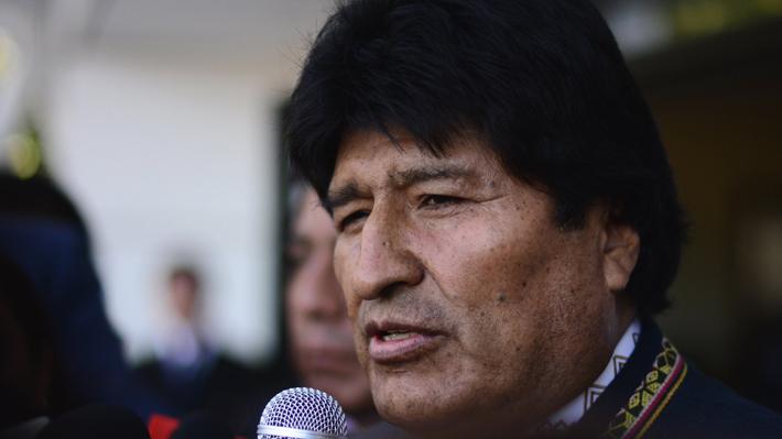 """Evo Morales por fallecimiento de minero en Tocopilla: """"Dispondremos todo lo necesario para la repatriación"""""""