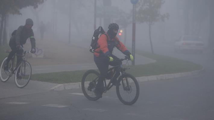 Meteorología pronostica -5 grados en sectores de la RM para los próximos días y 6 bajo cero en Coyhaique