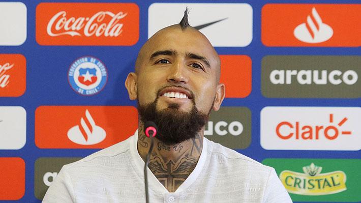 """Vidal detalla el """"verdadero"""" Chile que se verá en la Copa América y recuerda cuando quiso renunciar a la """"Roja"""""""