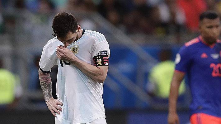 """""""Paupérrimo, para olvidar"""" y """"un trompazo"""": Prensa argentina hizo dura crítica por el debut de la """"Albiceleste"""" en Copa América"""