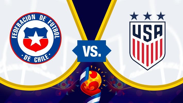 """Así fue la derrota de la """"Roja"""" femenina ante Estados Unidos en la segunda fecha del Mundial de Francia"""