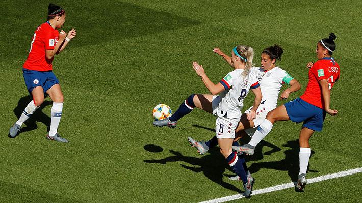 Mira los goles del partido entre Chile y Estados Unidos en el Mundial femenino