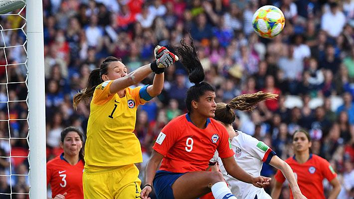 Fue elegida la mejor jugadora del partido: Las notables tapadas de Christiane Endler ante EE.UU. en el Mundial Femenino