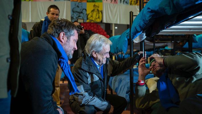 Piñera tiene primera actividad con ministro Sichel y activan Código Azul por bajas temperaturas