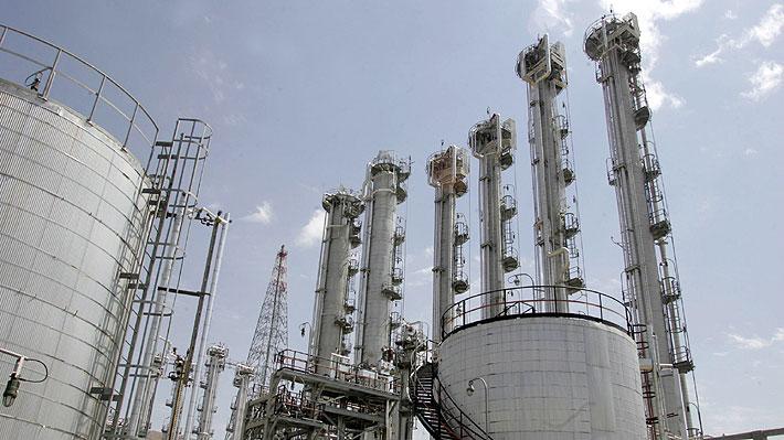 Irán superará a fines de junio el límite de almacenamiento de uranio