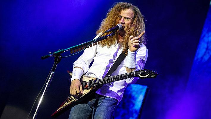 Megadeth cancela todos sus conciertos de 2019: Dave Mustaine, su líder, padece un cáncer de garganta