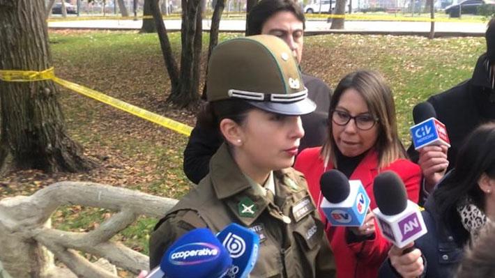 Carabineros encuentra feto enterrado en inmediaciones de Parque Forestal: Se indaga aborto