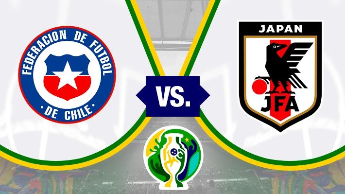 Revive el relato de la abultada victoria de Chile ante Japón en su estreno en Copa América