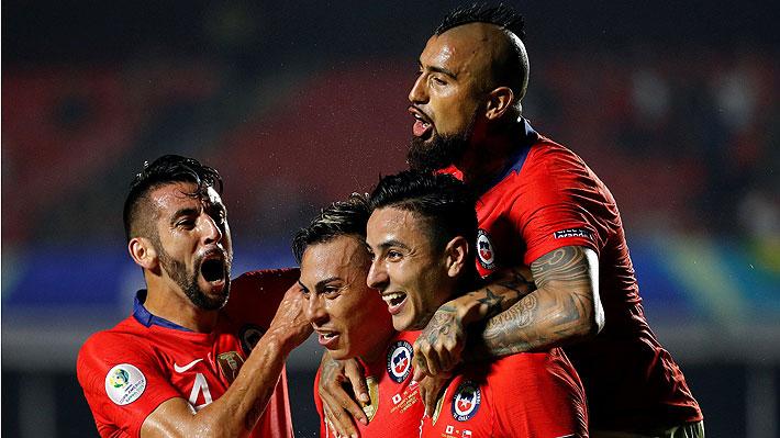 """El bicampeón de América reapareció: La """"Roja"""" goleó a Japón en su debut en la Copa América"""