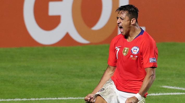 """Alexis Sánchez fue elegido el mejor jugador del partido en el debut de la """"Roja"""" ante Japón en Copa América"""