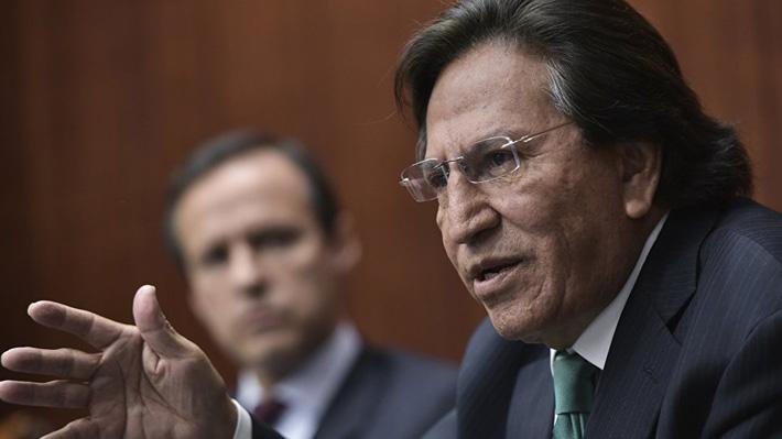 Fiscalía peruana presenta nuevo pedido de extradición contra ex presidente Alejandro Toledo