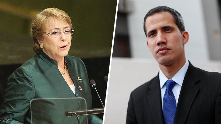 """Guaidó y visita de Bachelet a Venezuela: """"Lo importante para nosotros no es solamente el diagnóstico, sino las soluciones"""""""
