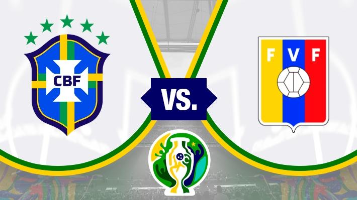 Repasa el empate sin goles entre Brasil y Venezuela
