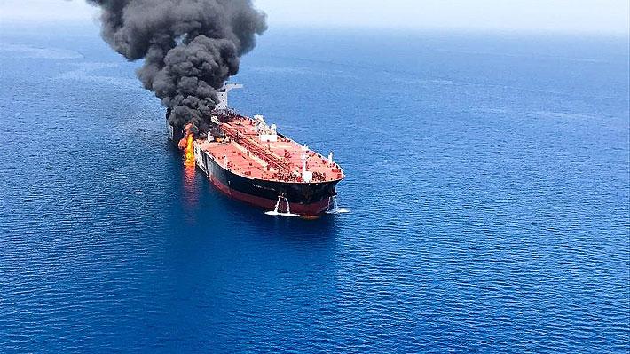 """Irán dice que acusaciones de EE.UU. sobre ataque a buques en el Golfo Pérsico es """"para poner presión"""""""