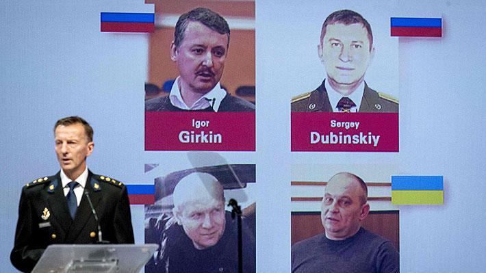 Identifican a cuatro sospechosos de participar en derribo del avión de Malaysia Airlines en Ucrania en 2014