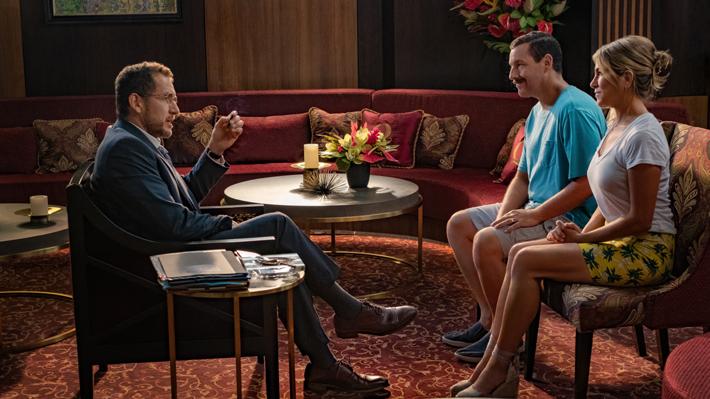 """El regreso de la dupla Adam Sandler-Jennifer Aniston en """"Murder Mystery"""" bate récords en su estreno en Netflix"""