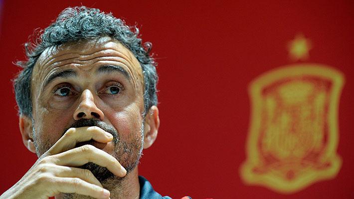 """Golpe en el fútbol europeo: España oficializó la salida de Luis Enrique por """"problemas familiares"""""""