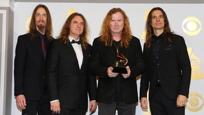 """Bajista de Megadeth, sobre cáncer de Dave Mustaine: """"Es un guerrero, un luchador"""""""