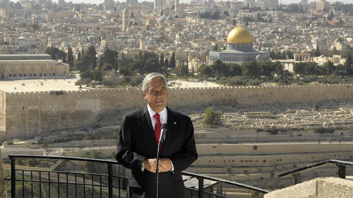Piñera en Israel y Palestina: Los equilibrios que se deben cuidar en una visita diplomáticamente compleja