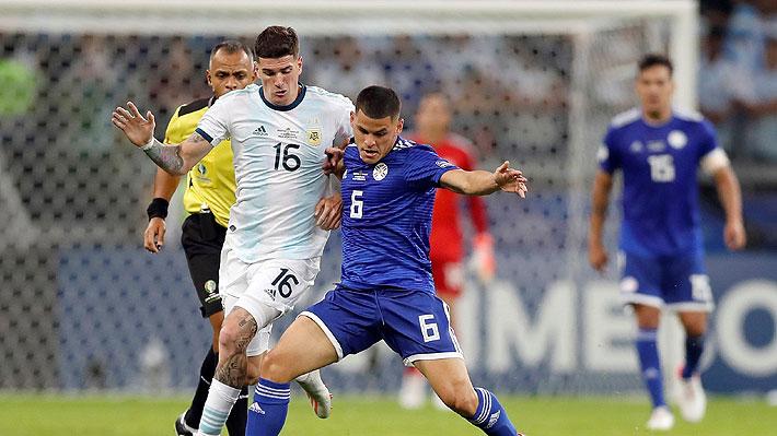 Uno fue de contra y otro de penal: Mira los goles de Argentina y Paraguay en su duelo por Copa América