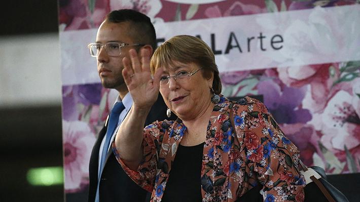 La intensa agenda que tendrá Michelle Bachelet en sus tres días de visita en Venezuela