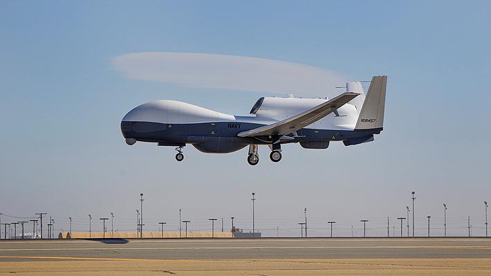 Irán anuncia derribo de un dron espía estadounidense cerca del estrecho de Ormuz