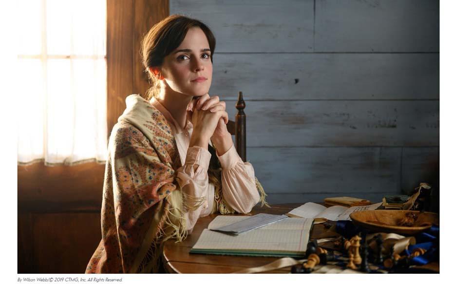"""Galería: Medio norteamericano publica las primeras imágenes de la nueva  """"Mujercitas"""" con Emma Watson y Meryl Streep"""