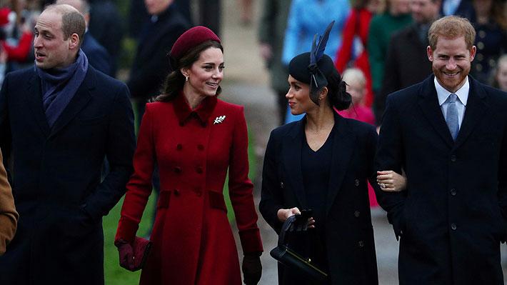Harry y Meghan se separan de William y Kate para tener su propia entidad benéfica