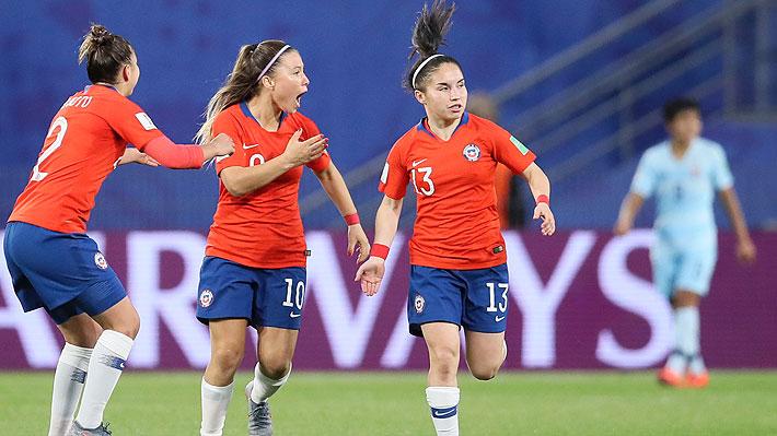 Mira los goles y el penal que falló Chile ante Tailandia en el Mundial Femenino