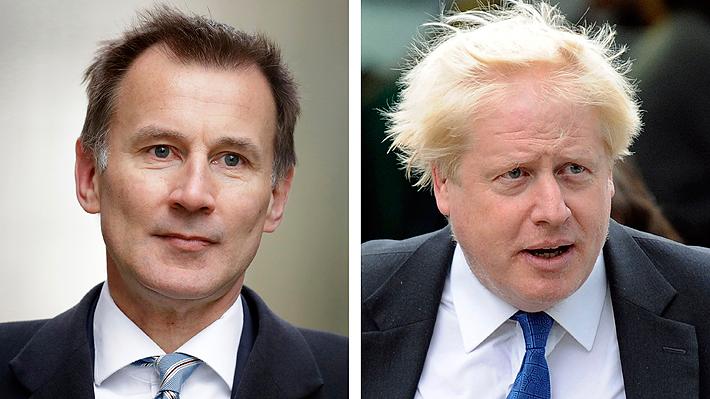 Boris Johnson y Jeremy Hunt se enfrentarán para ser el primer ministro que suceda a May
