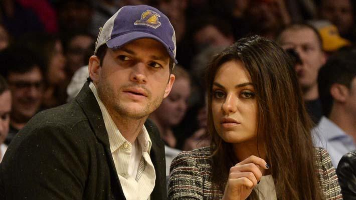 Ashton Kutcher y Mila Kunis publican cómico video para referirse a los rumores de quiebre