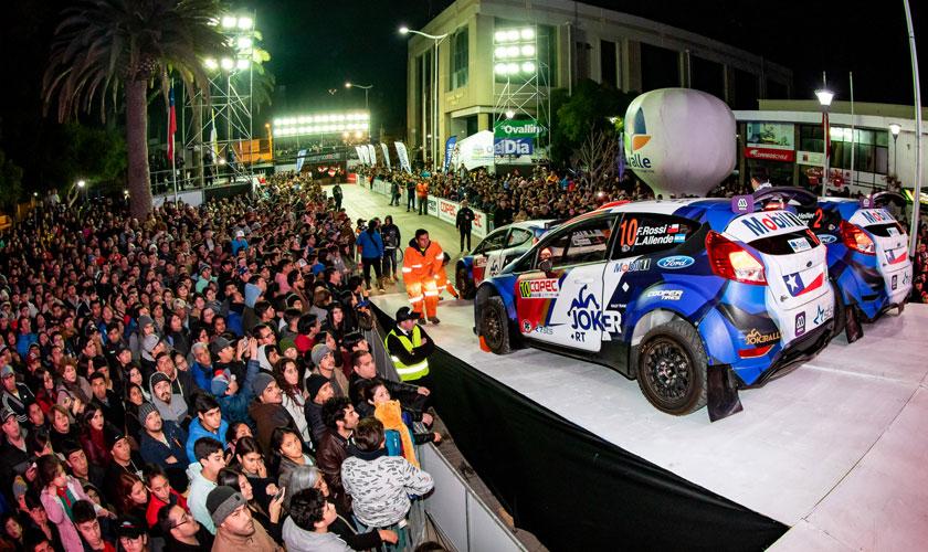 RallyMobil llega por primera vez en su historia a Ovalle y lo hace con animada Presentación Estelar
