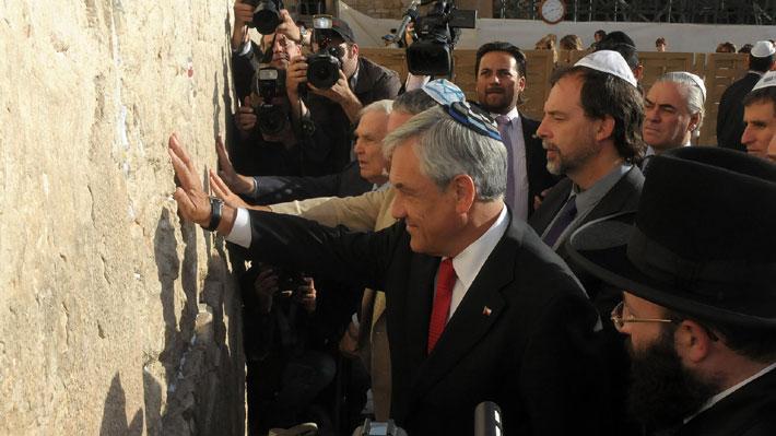 Gira presidencial a Medio Oriente: Las expectativas de Israel y Palestina por la visita de Piñera
